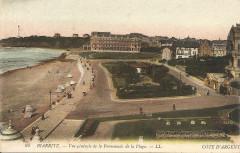 Biarritz-Vue générale de la Promenade de la Plage-Ll 24 - Biarritz