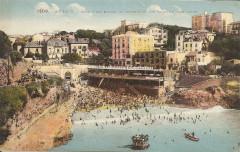 Biarritz-Hôtel des Roches et Embruns et les Bains du port-Vieux-Lf 1208 - Biarritz