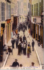 Marseille rue Bouterie Cp colorisée - Marseille