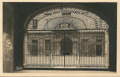 Aix en Provence-Fr-13-vers 1930-hôtel de ville-la grille - Aix-en-Provence