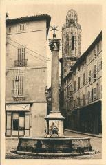 Aix en Provence-Fr-13-vers 1930-la Fontaine des Augustins - Aix-en-Provence