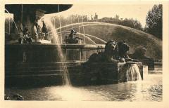Aix en Provence-Fr-13-vers 1930-la Grande Fontaine-détail - Aix-en-Provence