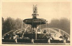 Aix en Provence-Fr-13-vers 1930-la Grande Fontaine - Aix-en-Provence