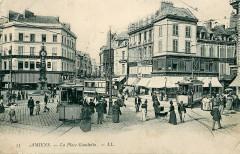 Amiens - La Place Gambetta - Amiens