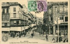 Artaud 15 - Amiens - La rue des Trois-Cailloux et la Place Gambetta 80 Amiens