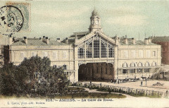 Caron 328 - Amiens - La Gare du Nord 80 Amiens