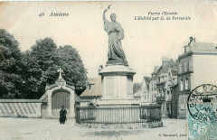 Hacquart 46 - Amiens - Pierre l'Ermite - L'Eveché par G. de Forceville 80 Amiens