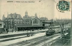 Inconnu - Amiens - Intérieur de la Gare Saint-Roch 80 Amiens