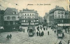 Inconnu - Amiens - La Place Gambetta 80 Amiens