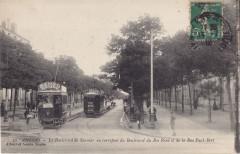 Artaud et Nozais 32 - Angers - Le Boulevard de Saumur au Carrefour du Roi René et de la Rue Paul-Bert - Angers