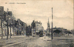 Inconnu 199- Angers - Place Lionnaise - Angers