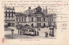 Ke - Angers - Place du Ralliement et le Théatre - Angers