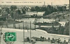 Lv 286 - Angers - Panorama sur le Jardin des plantes 49 Angers