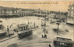 Lv 67 - Angers - Vue générale de la Gare Saint-Laud 49 Angers