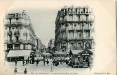 Nd 58 - Angers - Place du Ralliement, Perspective de la Rue d'Alsace 49 Angers