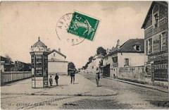 92-Antony-Colonne Morris rue Velpeau-vers 1910 - Montcabrier