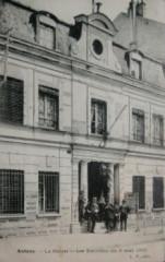 Cp - La mairie en 1906 - Montcabrier