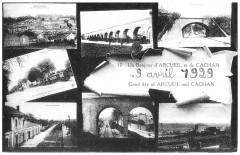 Un Bonjour d'Arcueil et de Cachan - 1929 - Cachan