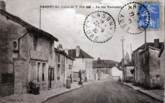 Arsonval route nationale - Arsonval