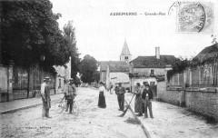 Cp Aubepierre Grande-Rue - Aubepierre-sur-Aube