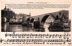 Le Pont Saint-Bénézet - Avignon