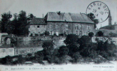 Bar le duc château des ducs de Bar 29 octobre 1914 - Bar-le-Duc