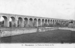 Viaduc du chemin de fer, Beaugency, carte postale - Beaugency