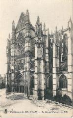 Beauvais-Fr-60-Cpa-cathédrale-grand portail-01 - Beauvais