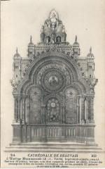 Beauvais-Fr-60-Cpa-cathédrale-horloge monumentale-01 - Beauvais