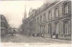 Postcard- Bergues - Hospice-Hopital Saint-Jean, sent May 1915  - Bergues