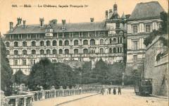 Ag 563 - Blois - Le Chateau, Facade Francois 1er - Blois