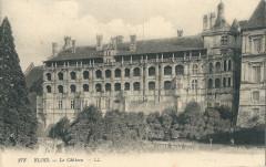 Château de Blois-carte postale-a1 - Blois
