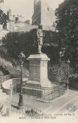 La statue de Denis Papin - Blois CIPA0819 - Blois