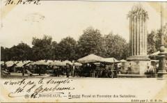 Bordeaux - Marché royal et fontaine des Salinières 33 Bordeaux
