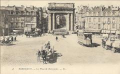 Bordeaux Porte de Bourgogne vers 1905 33 Bordeaux