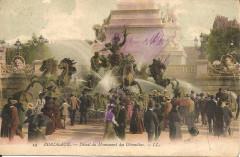 Bordeaux-Détail du Monument des Girondins-Ll 14 - Bordeaux