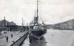 Boulogne gare maritime bateau cpa 62 Saint-Martin-Boulogne