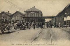 Boulogne gare maritime cpa 62 Saint-Martin-Boulogne