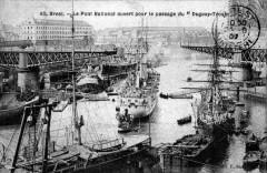 29-Brest-Port militaire-Arrivée du Croiseur Duguay-Trouin-1901 - Brest