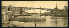 3Fi114-081 1930 - Le pont national fermé - Brest