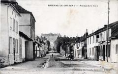 Brienne-le-Château vers le château - Brienne-le-Château