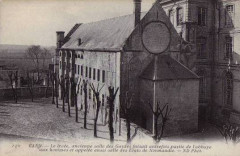 Lycée - Salle des Gardes de l'Abbaye aux Hommes - Caen