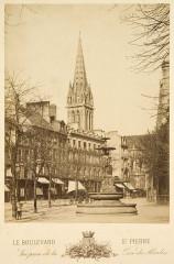 Le Boulevard Saint-Pierre - Caen