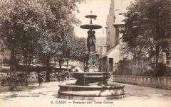 Fontaine des Trois Grâces - Caen