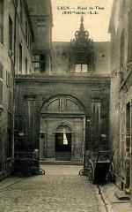 Caen hotel than porche cpa - Caen