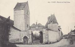 Caen manoir pontcreon cpa - Caen