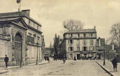 La Place Gambetta et la Rue Auber - Caen
