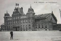 Calais gare cpa Bv - Calais