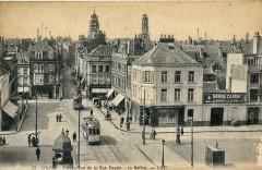Cap 29 - Calais - Perspective de la Rue Royale - Le Beffroi - Calais