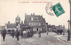 Grand bazar Lafayette 37 - Calais - La Place de la Nation - Calais